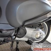 Modern Vespa Primavera / Sprint Crashbar Hitam Model Faco Italy