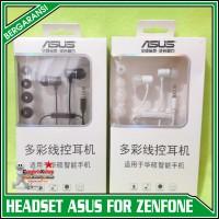 Headset Handsfree ASUS ZENFONE 2 3 4 5 6 Go C ORIGINAL 100%