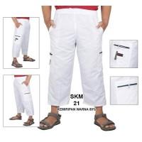 Celana Panjang Cargo katun Pangsi / Sirwal