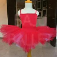 Ballet Leotard & Tutu Skirt (baju balet & Rok ballet) anak