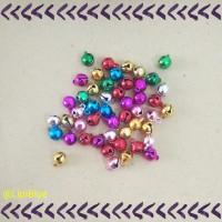 Lonceng Mini Warna | Bahan Aksesoris Material Kalung Gelang Handmade