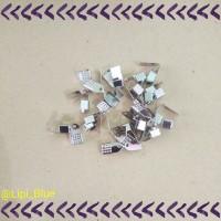 Penjepit Kotak | Bahan Aksesoris Material kalung gelang handmade