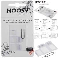 NOOSY NANO SIM ADAPTER / NOOSY SIM CARD MICRO 3 IN 1
