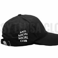 TOPI BASEBALL ANTI SOCIAL SOCIAL CLUB/ASSC IL9- SLC