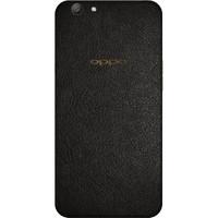 [EXACOAT] Oppo F3 Plus 3M Skin / Garskin - Leather Black