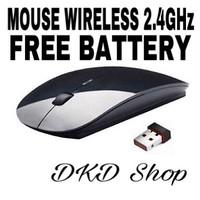 Apple Mouse Magic Wireless 2,4GHz 1600DPI BLACK Laptop Desktop
