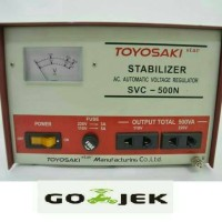 Stabilizer Toyosaki 500 watt /500w SVC 500N