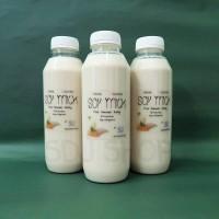 Susu Kacang Kedelai Rumahan (Homemade Soymilk) 500ml