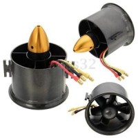 EDF 70mm 6Blade Duct Fan 2839-3000KV Brushless motor
