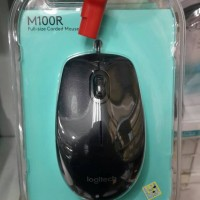 Mouse Kabel Logitech M100 Original