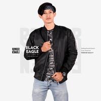 Jaket Bomber Black