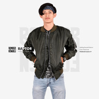 Jaket Bomber Green Moose