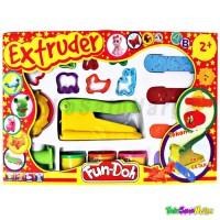 Mainan Edukasi Lilin Fun Doh Extruder Cetakan + Lilin | Playdough