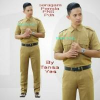 seragam pemda pakaian dinas pria pdh/laki-laki
