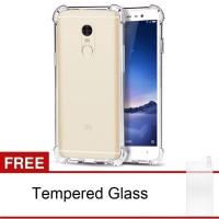 Xiaomi Redmi Note 3 Softcase Anti-Crack TPU (Clear) FREE Tempered Glas