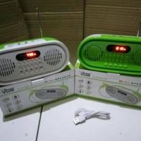 Speaker audio al quran hafalan 30 juz bisa AM FM radio rodja mini anak