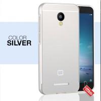 Xiaomi Redmi Note 2 Hybrid Metal Aluminium Bumper Thin Back Hard Case