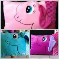 Bantal Kuda Pony/ Bantal My Little Pony 50cmx30cm by ESSLSHOP2