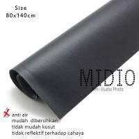 Midio Mini Photo Studio Background Hitam 80x140cm