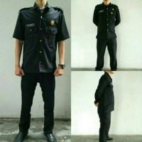 Seragam Baju Setelan Satpam / Security /Supir / Safary / Bodyguard
