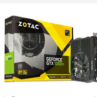 Zotac GeForce GTX 1050 Ti 4GB DDR5 - Single Fan