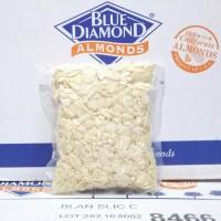 Almond Slice Roasted / Kacang Almond Slice Panggang Blue Diamond 250gr