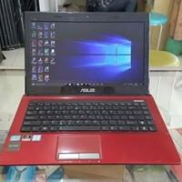 Laptop ASUS K43SJ Core i3 RAM 6GB VGA NVIDIA GeForce (Nego)
