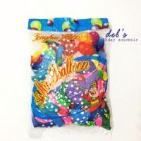 balon polkadot / balon ulang tahun