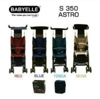 Stroller Kereta Bayi BabyElle Astro S350 Pockit + Backpack
