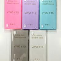 VIVO Y15 Y 15 Ultrathin Case Softcase Silicon Cover Aksesoris Kondom