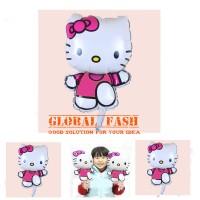 balon hello kitty run / balon foik hello kitty mini / balon karakter