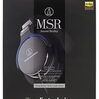 Audio-Technica ATH-MSR7 BK High Resolution Audio Over-Ear Headphone