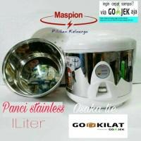 MASPION RICE COOKER MINI MRJ-109SS(1LTR)PANCI STAINLESS