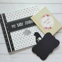 Buku jurnal bayi bundle baby selfie card BEAR