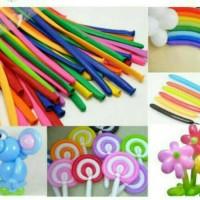 Balon Latex Twist/ Balon Karet Panjang 30cm by BosBalloon