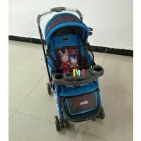 Baby Stroller Pliko 268 R Grande Rocker