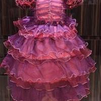 Dress Anak | Baju Anak Sabrina Ungu