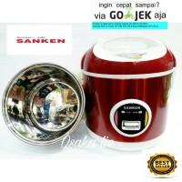 SANKEN RICE COOKER MINI SJ-200 (1LTR)PANCI STAINLESS