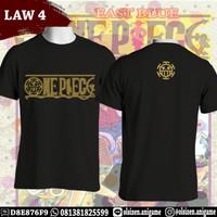 Kaos Anime One Piece Law 4 Trafalgar Law Legan Pendek