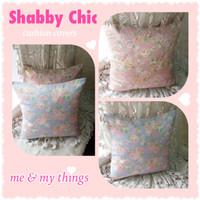 Sarung Bantal Sofa/Kursi/Shabby Chic/Kado/Bantal/Dekorasi Rumah