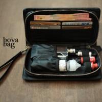 Premium Leather Vape Bag | Vaporizer | Tas Vape | Vapor Bag| Bova Bag