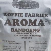 KOPI COFFEE AROMA KHAS BANDUNG RASA ARABIKA ROBUSTA