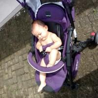 Stroller baby elle avio - ungu