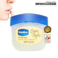 Vaseline Lip Therapy Creme Brulee - pelembab & pencerah bibir