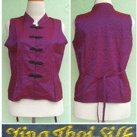 Atasan Ceongsam baju second branded import