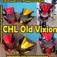 cover headlamp/ topeng lampu/ lis lampu old vixion atau vixion lama