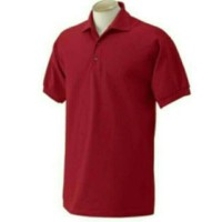 Polo shirt BIG SIZE XXXL-XXXXL MERAH MAROON POLO SHIRT POLOS