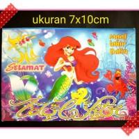 amplop angpao lebaran idul fitri karakter mermaid putri duyung