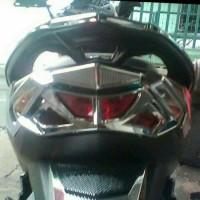 Variasi Garnish Cover Tutup Stop Lamp Motor Vario 125 New/150 Trmurah.