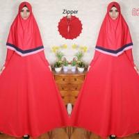 Kayla Hijab Set 8268 Busana Muslim Wanita - Merah